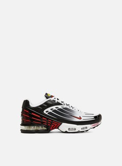 Nike - Air Max Plus III, Black/White/Black/University Red
