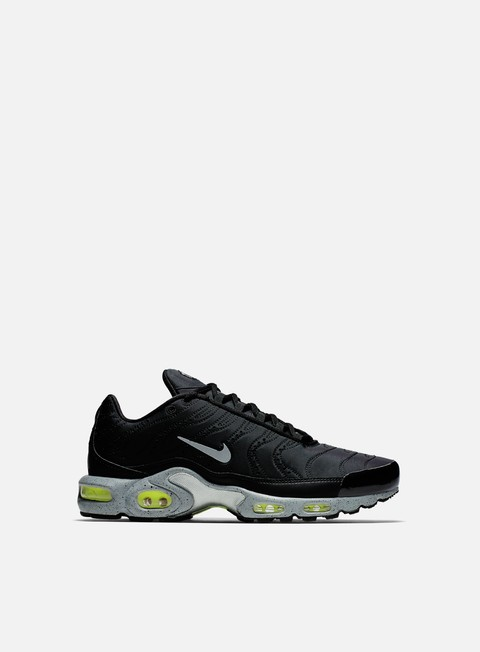 sneakers nike air max plus prm black matte silver volt