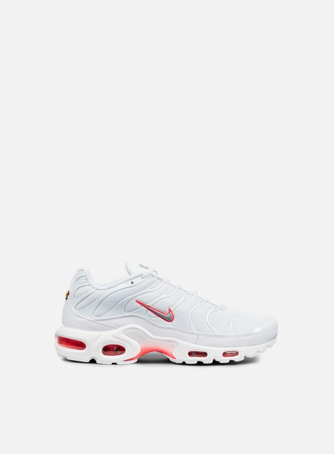 sneakers nike air max plus white wolf grey bright crimson