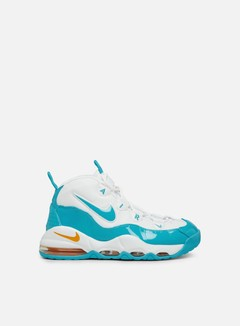 Nike - Air Max Uptempo 95, White/Blue Fury/Canyon Gold