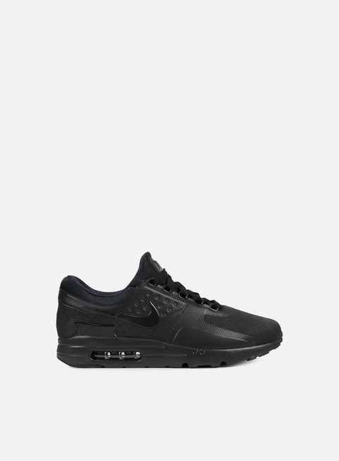 sneakers nike air max zero essential black black black