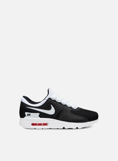 sneakers nike air max zero essential black white
