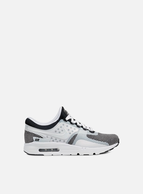 sneakers nike air max zero essential black wolf grey white
