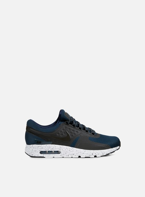 sneakers nike air max zero premium armory navy black white