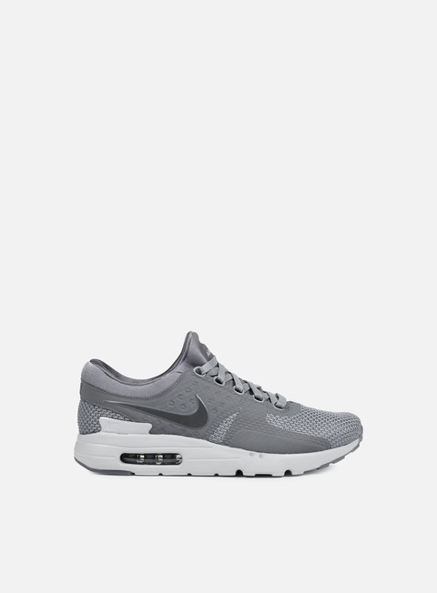 sneakers nike air max zero qs cool grey dark grey wolf grey