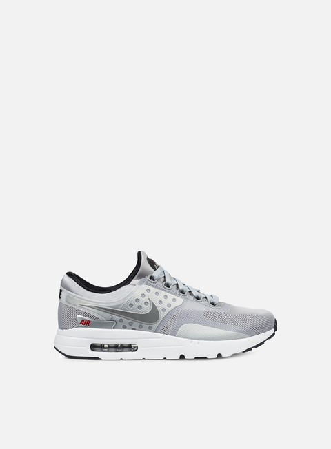 sneakers nike air max zero qs metallic silver