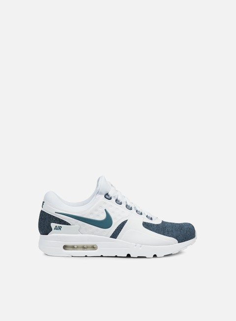 sneakers nike air max zero se white armory blue armory blue