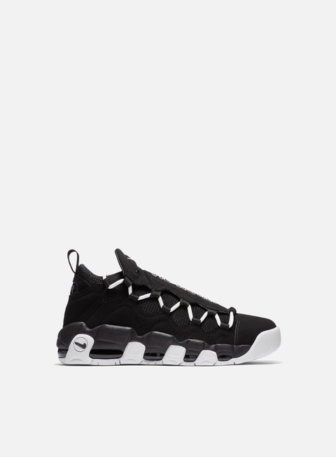 sneakers nike air more money black white black