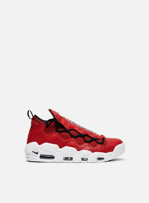 sneakers nike air more money gym red black white