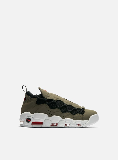 sneakers nike air more money medium olive black