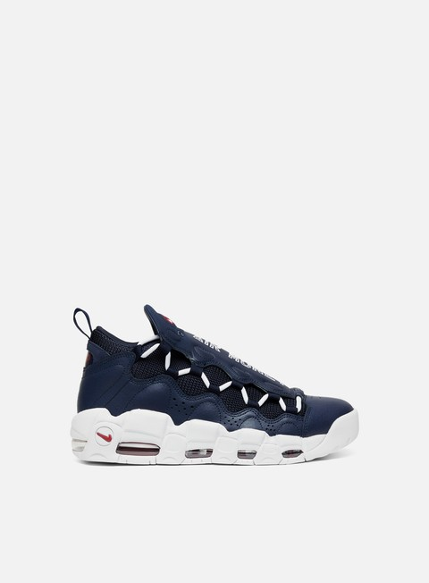 sneakers nike air more money obsidian white gym red