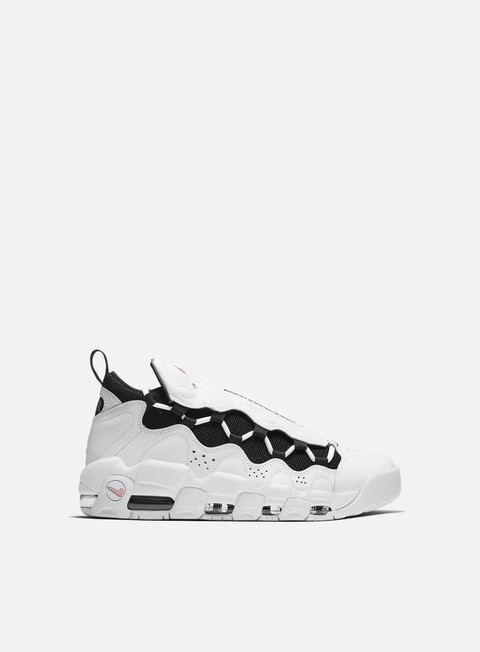 sneakers nike air more money white black coral chalk white