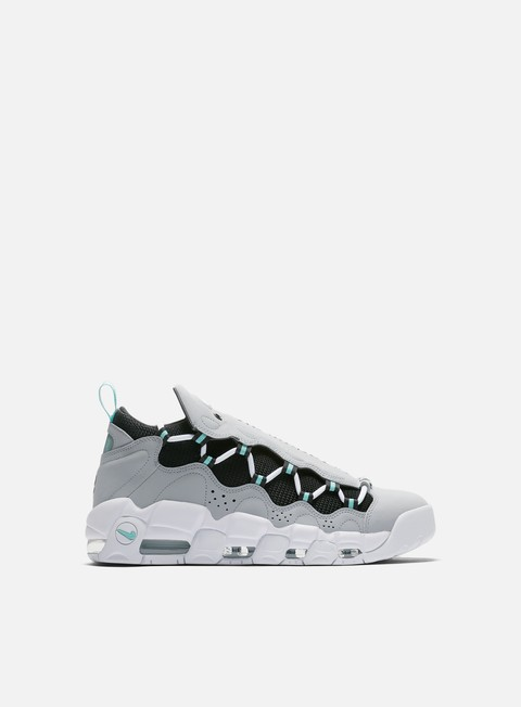 sneakers nike air more money wolf grey island green black