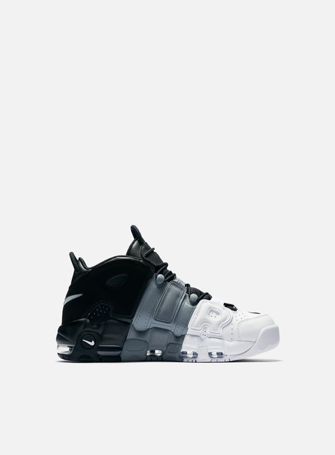 sneakers nike air more uptempo 96 black black white