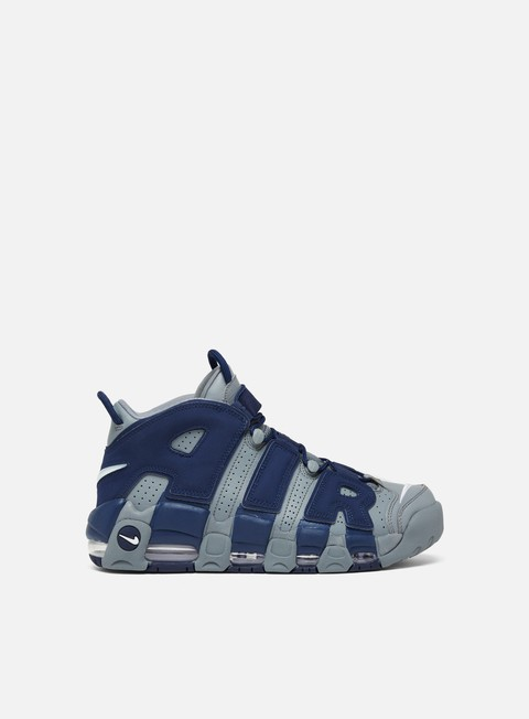 sneakers nike air more uptempo 96 cool grey white midnight navy