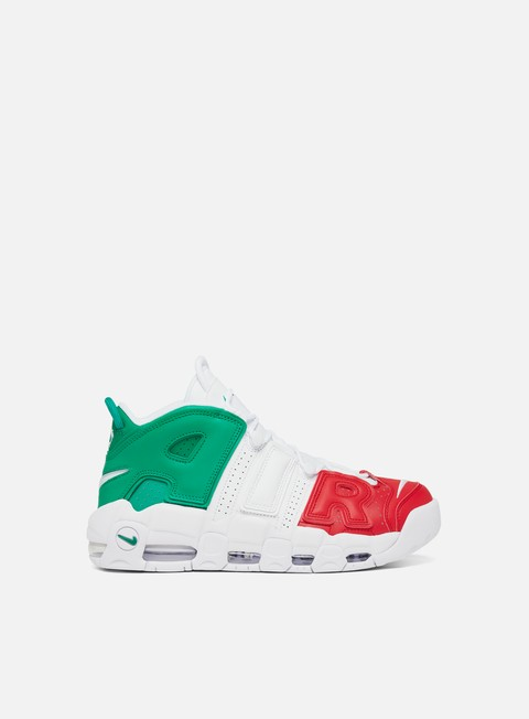 sneakers nike air more uptempo 96 italy qs university red white