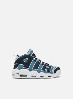 Nike - Air More Uptempo '96 QS, White/Obsidian/Total Orange