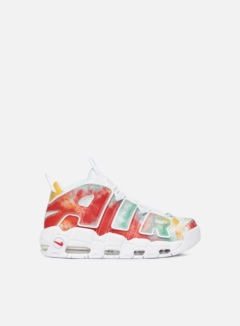 sneakers nike air more uptempo 96 uk qs amarillo white speed red