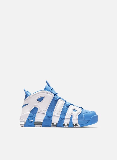 sneakers nike air more uptempo 96 university blue white
