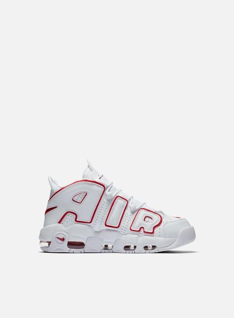 Nike Air More Uptempo 96 biancaUniversity Rosso Scarpe Uomo