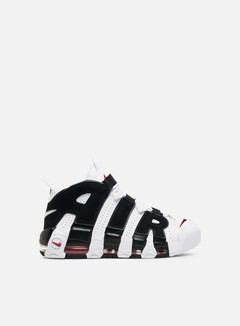 Nike - Air More Uptempo, White/Black/University Red 1