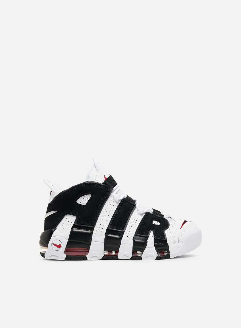 Nike - Air More Uptempo, White/Black/University Red