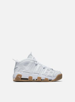 Nike - Air More Uptempo, White/White/Gum Light Brown 1