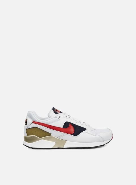 sneakers nike air pegasus 92 premium white university red midnight navy