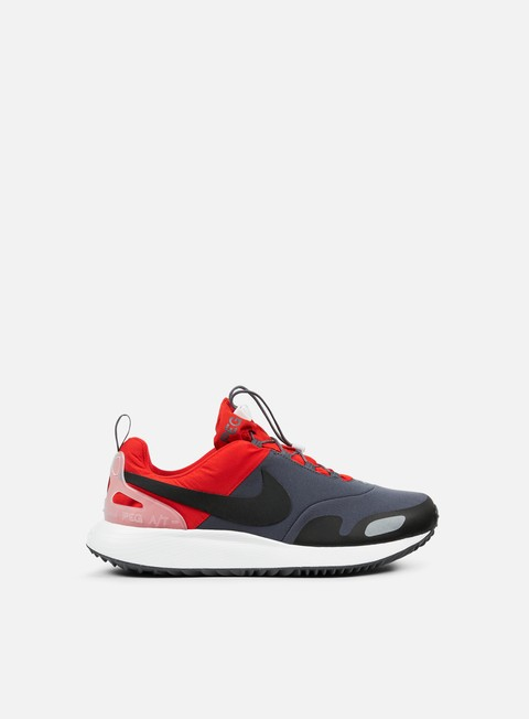 sneakers nike air pegasus a t challenge red black dark grey