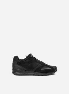 Nike - Air Pegasus New Racer PRM, Black/Black/Metallic Pewter 1