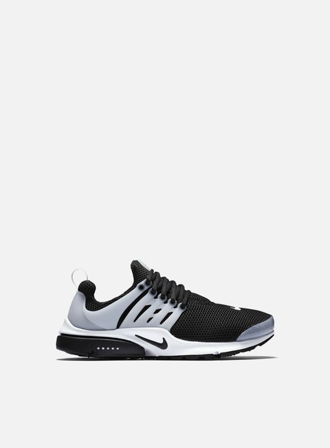 sneakers nike air presto black black white