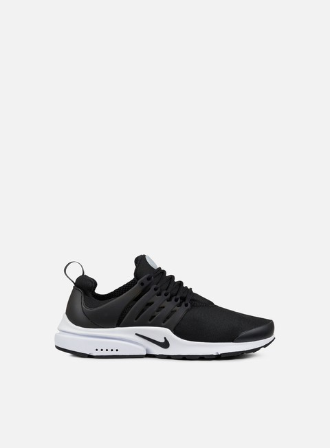 sneakers nike air presto essential black black
