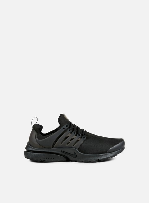 sneakers nike air presto essential black black black