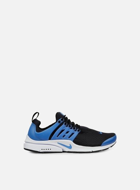 sneakers nike air presto essential black photo blue white