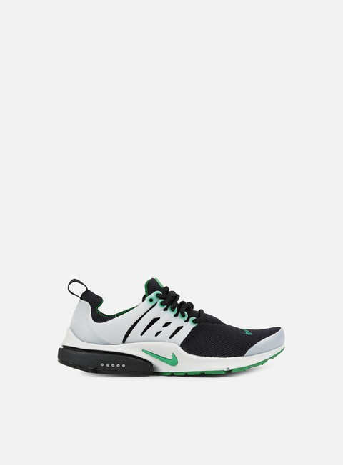 sneakers nike air presto essential black pine green neutral grey
