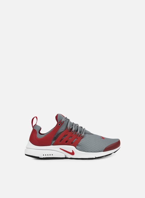 sneakers nike air presto essential cool grey gym red white