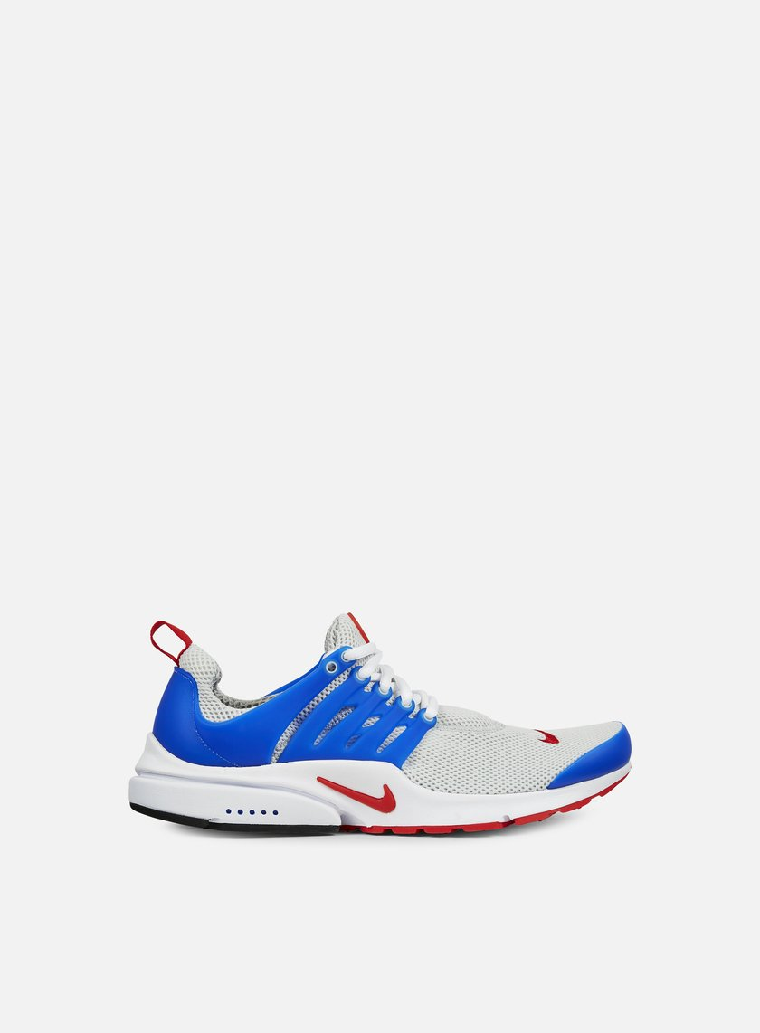 Nike - Air Presto Essential, Dusty Grey/University Red/Hyper Cobalt