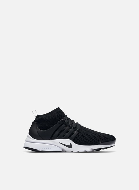 sneakers nike air presto flyknit ultra black black white