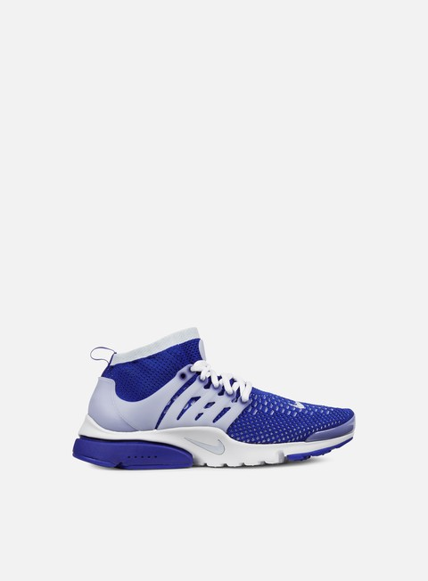 sneakers nike air presto flyknit ultra racer blue blue grey white