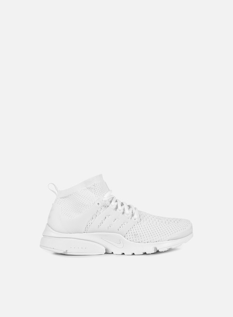 sneakers nike air presto flyknit ultra white white white