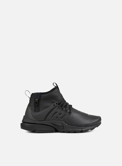 sneakers nike air presto mid utility air presto mid utility black black volt