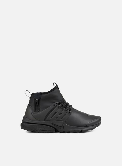 sneakers nike air presto mid utility air presto mid utility black black volt