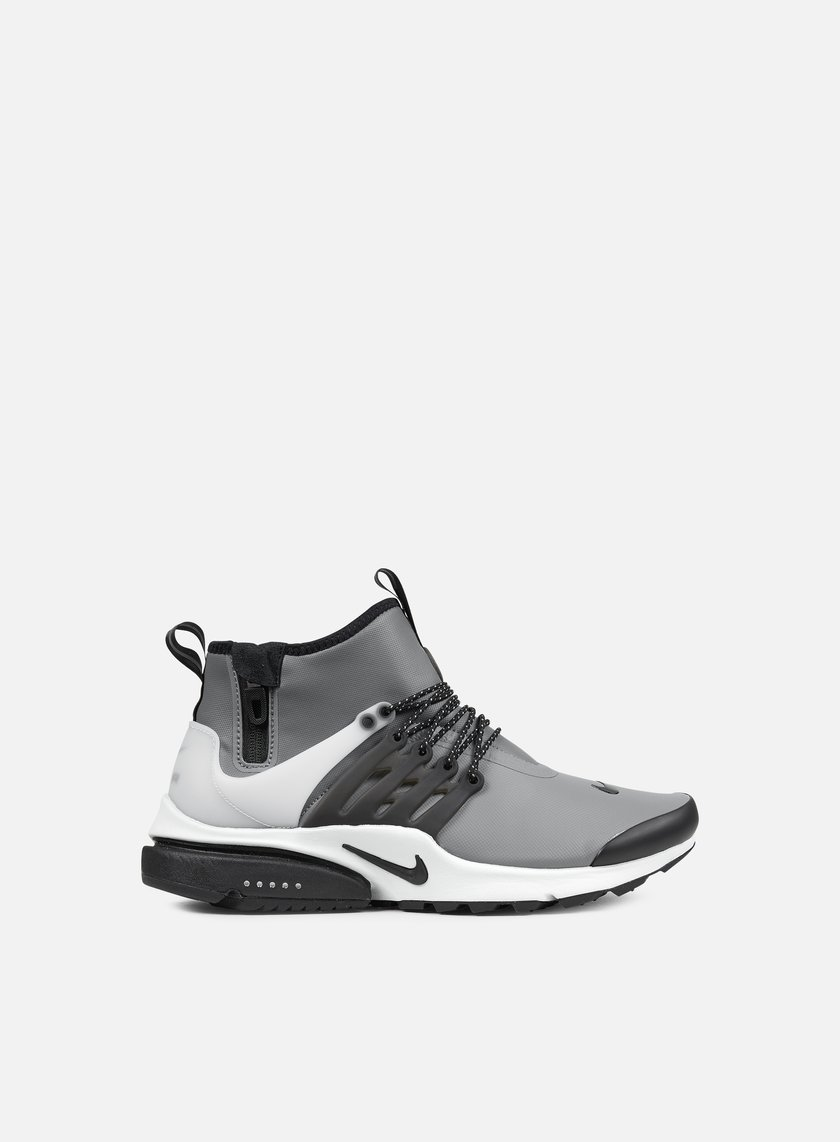 Nike - Air Presto Mid Utility, Cool Grey/Black/Off White
