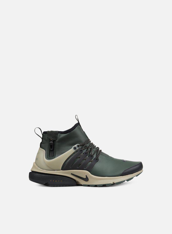 557ee19174fe NIKE Air Presto Mid Utility € 75 High Sneakers