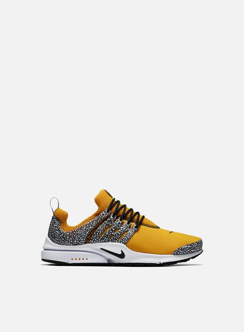 sneakers nike air presto qs university gold black white