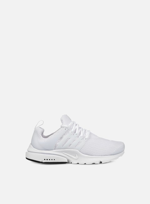 sneakers nike air presto white white black