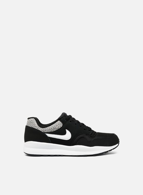 sneakers nike air safari black white black