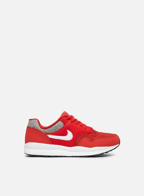 sneakers nike air safari university red white black
