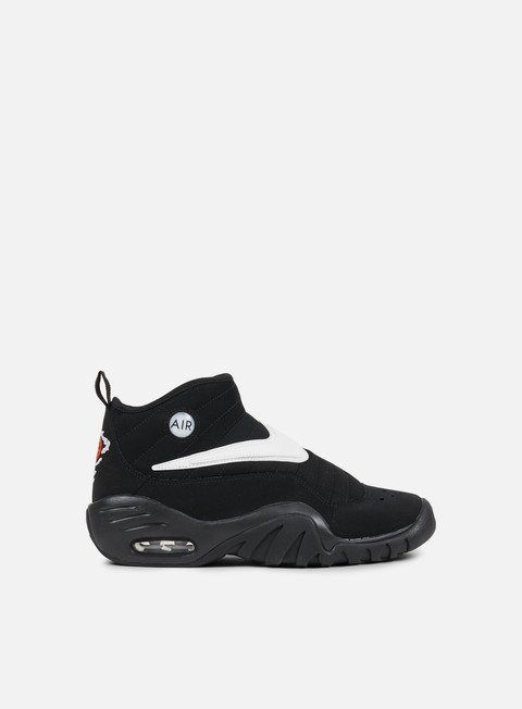 sneakers nike air shake ndestrukt black white