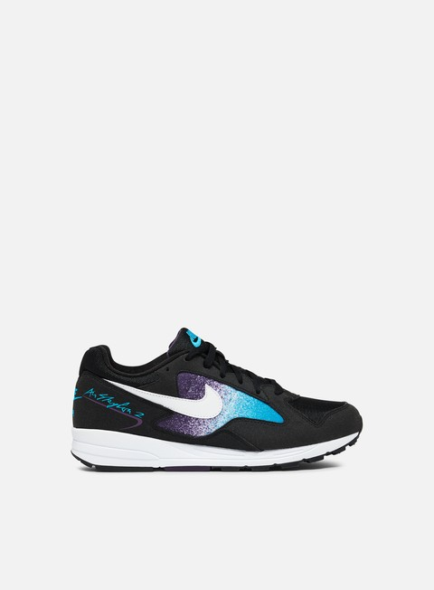 sneakers nike air skylon ii black white blue lagoon